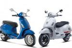 Produk Piaggio Indonesia, Vespa Premivera (kanan) dan Vespa Sprint (kiri). (id.piaggio.com)