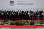 Sesi foto pemimpin dunia dalam peringatan 60 Tahun KAA (Dwi Prasetya/JIBI/Bisnis)