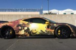 Sisi samping Ferrari 458 Team Anime. (Autoevolution.com)