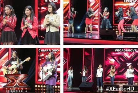 Vocal group yang lolos di audisi X Factor Indonesia (Facebook.com)