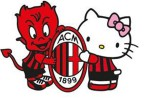 AC Milan dan Hello Kitty (Caughtoffside.com)