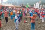 Salah satu kegiatan dalam Amidis Kampong to Kampoeng yang digelar di Lapangan Piyungan, Dusun Petir, Desa Srimartani, Kecamatan Piyungan Kabupaten Bantul, Minggu (26/4/2015). (Joko Nugroho/JIBI/Harian Jogja)
