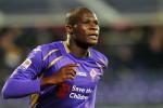 Pemain Fiorentina Khouma Babacar menyelamatkan timnya dari kekalahan. Ist/fichaies.net