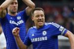 Kapten Chelsea John Terry menyatakan klubnya kini kian dekat gelar juara. JIBI/Rtr/Eddie Keogh