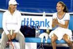 Petenis Polandi, Agnieszka Radwanska (ka), saat masih dilatih oleh mantan petenis naomor satu dunia Martina Navratilova. Ist/bbc.co.uk