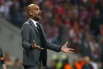 Pelatih Bayern Munich Pep Guardiola menyaksikan timnya berlaga melawan Porto. JIBI/Rtr/Solopos