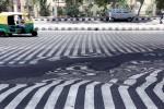 Jalanan di India meleleh karena gelombang panas (Istimewa)