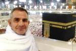 Thair Abud  pria Austria yang berjalan 300 hari ke Mekkah demi adiknya (Istimewa)