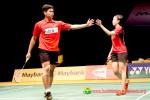 Pasangan ganda campuran Indonesia Praveen Jordan/Debby Susanto adalah satu dari tiga ganda campuran yang lolos ke babak kedua Australian Open 2015. Ist/badmintonindonesia.org
