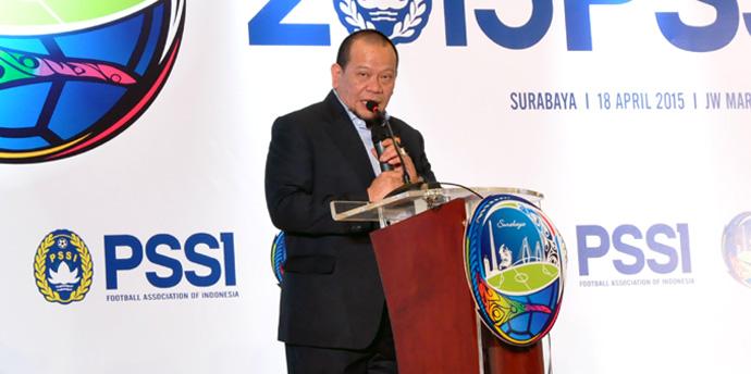 Ketua Umum PSSI, La Nyalla M Mattalitti (Ligaindonesia.co.id)