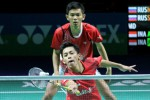 Rian/Fajar Hadapi Pasangan Malaysia (Badmintonindonesia.org)