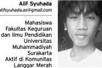 Alif Syuhada (Istimewa)