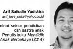 Arif Saifudin Yudistira (Istimewa)