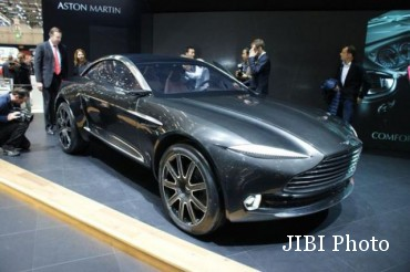 Aston Martin DBX. (Dailyrecord.co.uk)