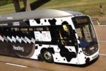 Bus Hound bertenaga Biogas. (Descrier.co.uk)