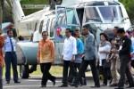 Presiden Jokowi datang ke Sulteng dengan Puma, Jumat (29/5/2015). (JIBI/Solopos/Antara/Zainuddin M.N.)