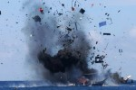 PEMBERANTASAN ILLEGAL FISHING : 31 Kapal Pencuri Ikan Diledakkan