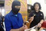 Pengungkapan kasus pembunuhan di Kerten, Solo, Selasa (19/5/2015). (Sunaryo Haryo Bayu/JIBI/Solopos)