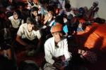 Derita pengungsi Rohingya di Langsa, Aceh, Jumat (15/5/2015). (JIBI/Solopos/Antara/Rony Muharrman)