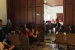Rapat koordinasi penerima tamu resepsi pernikahan Gibran-Selvi, Kamis (28/5/2015). (Ivanovich Aldino/JIBI/Solopos)