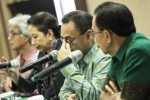 Penjelasan tentang pembubaran Petral Group di Jakarta, Rabu (13/5/2015). (JIBI/Solopos/Antara/Sigid Kurniawan)