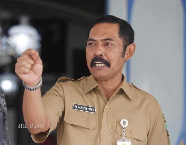 Wali Kota Solo Fx Hadi Rudyatmo yang dipilih menjadi anggota Tim Transisi akan mundur. Ist/dok