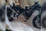 Rangka dan mesin motor baru Suzuki. (Facebook.com)