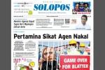 Halaman Depan Harian Umum Solopos edisi Jumat, 29 Mei 2015