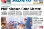 Halaman Depan Harian Umum Solopos edisi Kamis, 7 Mei 2015