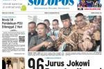 Halaman Depan Harian Umum Solopos edisi Rabu, 27 Mei 2015