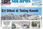 Halaman Depan Harian Umum Solopos edisi Selasa, 19 Mei 2015