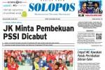 Halaman Depan Harian Umum Solopos edisi Selasa, 26 Mei 2015