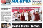 Halaman Depan Harian Umum Solopos edisi Selasa, 5 Mei 2015