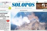 Halaman Depan Harian Umum Solopos edisi Senin, 18 Mei 2015