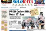 Halaman Soloraya Harian Umum Solopos edisi Kamis, 28 Mei 2015