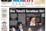 Halaman Soloraya Harian Umum Solopos edisi Rabu, 6 Mei 2015