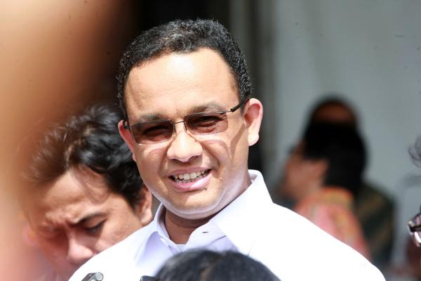 JIBI/Harian Jogja/Desi Suryanto Menteri Pendidikan dan Kebudayaan (Mendikbud), Anies Baswedan, Bantul, DI. Yogyakarta, Senin (04/05/2015).