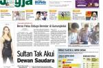 Harian Jogja Hari Ini Edisi Sabtu Pahing, 23 Mei 2015 (JIBI/Harian Jogja/dok)