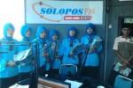 Foto kunjungan para siswa SMK Radlotul Huda Magetan di Griya Solopos, Jl. Adisucipto 190, Solo, Jawa Tengah, Senin (25/5/2015) pagi. (Evi Handayani/JIBI/Solopos.com)