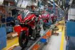 Ilustrasi pabrik perakitan Bajaj Pulsar 200RS di India. (Motorbeam.com)
