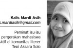 Kalis Mardi Asih (Istimewa)