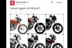 Kicauan @Welovehonda tentang kelanjutan Honda Tiger. (Twitter.com)