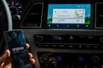 OS Android Auto pada Hyundai Sonata terhubung dengan ponsel Android. (Autoevolution.com)