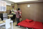Contoh unit yang ada di Student Castle Apartemen saat serah terima unit di Student Castle Apartemen, Sabtu (23/5/2015). (JIBI/Harian Jogja/Joko Nugroho)