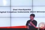 Pengembang aplikasi Dwi Hardyanto (Antara)