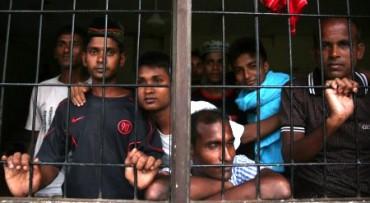 Pengungsi Rohingya di Lhokseumawe, Aceh. (JIBI/Solopos/Antara/Irwansyah Putra)