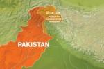 Peta lokasi kecelakaan helikopter di Pakistan (Aljazeera)