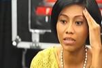 Rizky Inggar saat dinyatakan para mentor tidak lolos babak bootcamp X Factor Indonesia musim kedua (Youtube.com)