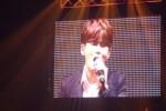 Ryeowook saat menyanyikan lagu Bunga Terakhir (Liputan6.com)