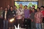 Gubernur Jateng, Ganjar Pranowo menerima anggota SAR Barameru Boyolali di Kantor Gubernuran Jl. Pahlawan, Kota Semarang, Jumat (22/5/2015). (Insetyonoto/JIBI/Solopos)